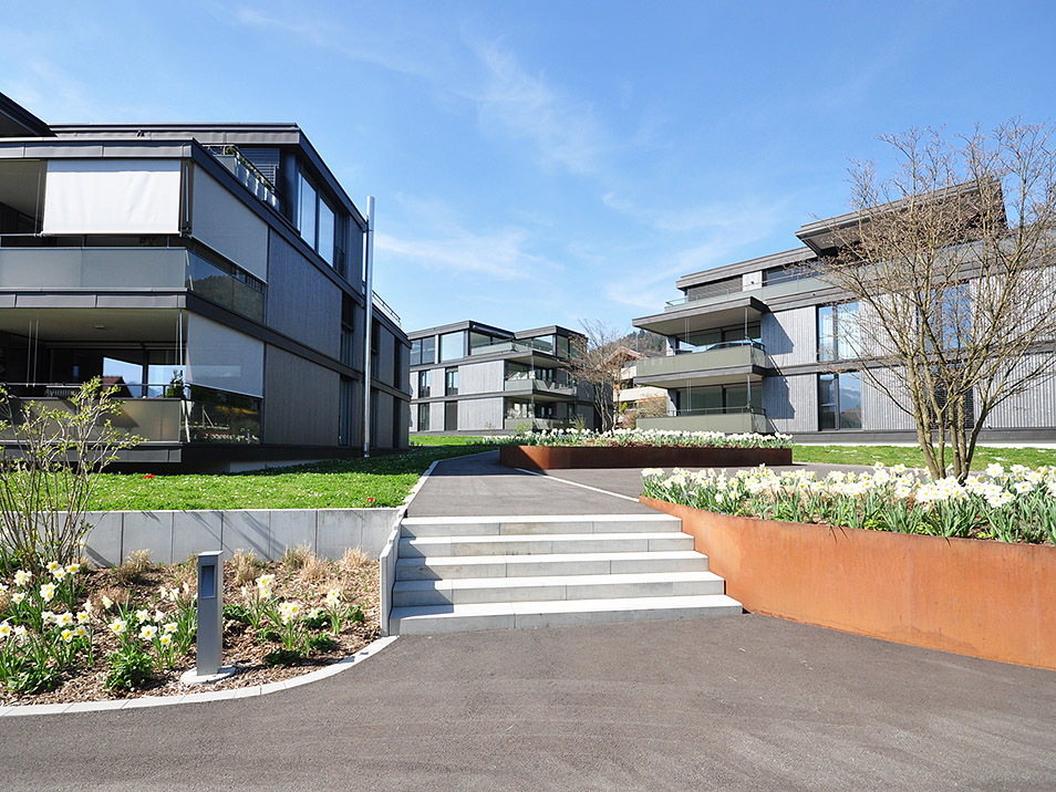 Gerber Architekten - Les Jardins, Hünibach